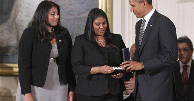 Obama awards Presidential Citizens Medal to 13
