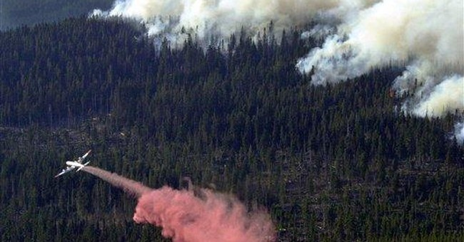 Forest Service wants to keep using fire retardant