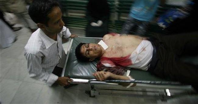Gadhafi's death energizes Syrian, Yemeni protests
