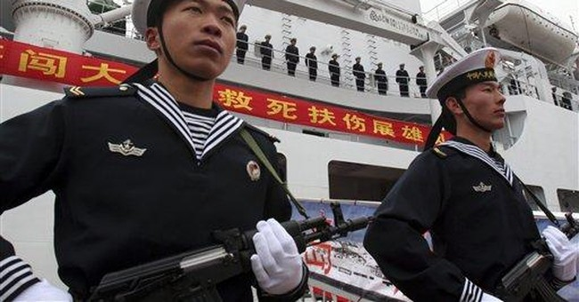 China's military in diplomatic charm offensive