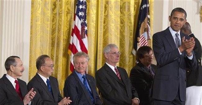 Obama hails 12 for science, technology, innovation