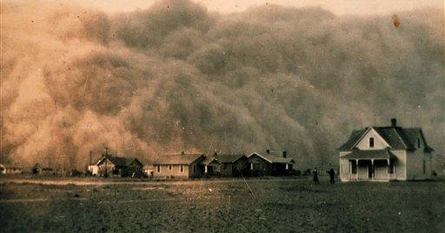 More dust storms expected as Texas drought lingers