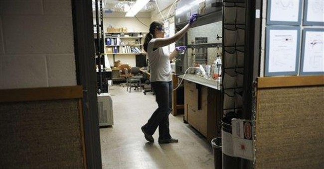 Women making slow, sure strides in science, math