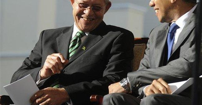 Holness sworn in as new prime minister of Jamaica