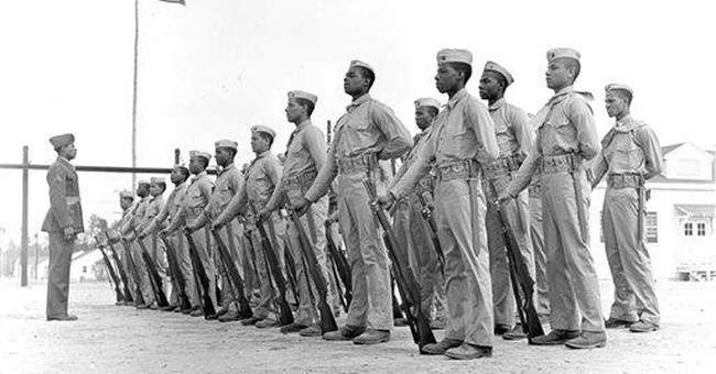 Marine Corps to teach story of first black Marines