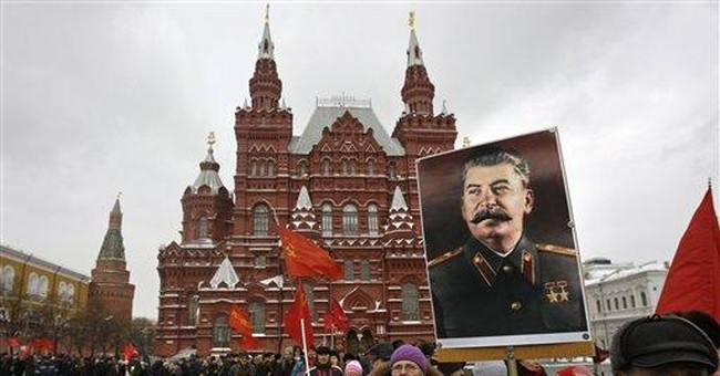 Russian activists decry failure to denounce Stalin