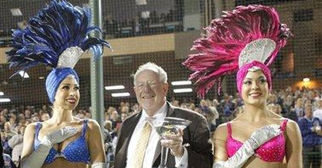 'Broads' to chat sports, Vegas at ex-mayor's joint