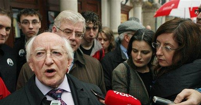 Higgins to win Irish presidency as rival concedes