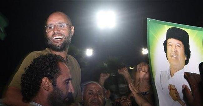 Gadhafi son said to be in vast Sahara