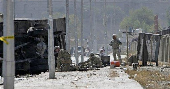 NATO convoy bomb adds urgency to protecting Kabul