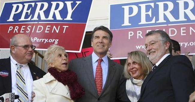 Perry, Romney contrast in style, substance