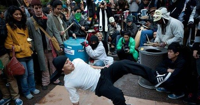 Protest drummers seen as both poisonous, inspired