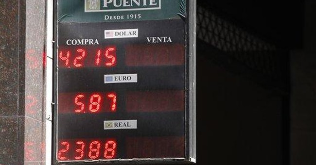 Buying dollars in Argentina just got a lot tougher