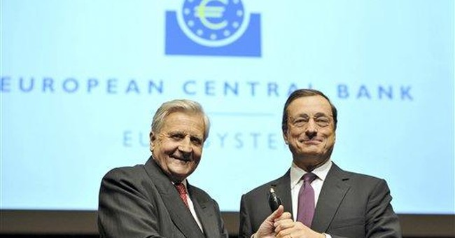 New ECB chief Draghi faces tussle over bank's role