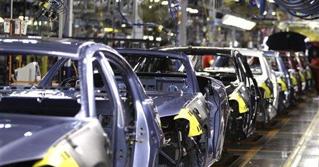 Manufacturing growth slowed slightly in October