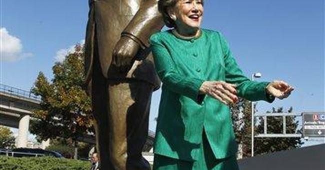 Reagan statue unveiled at namesake airport near DC