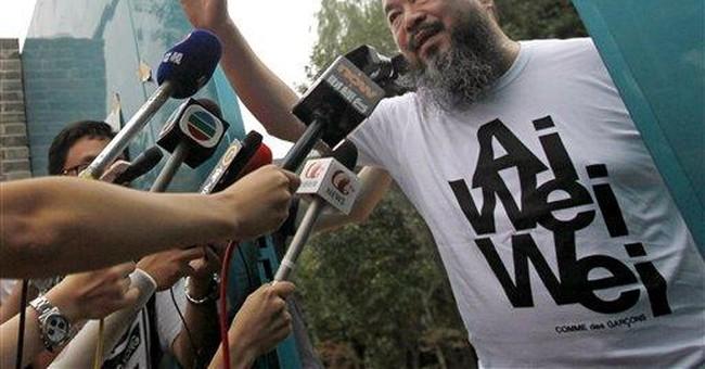 China sends outspoken artist $2.4 million tax bill