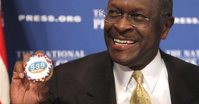Cain often blames irreverent humor for missteps