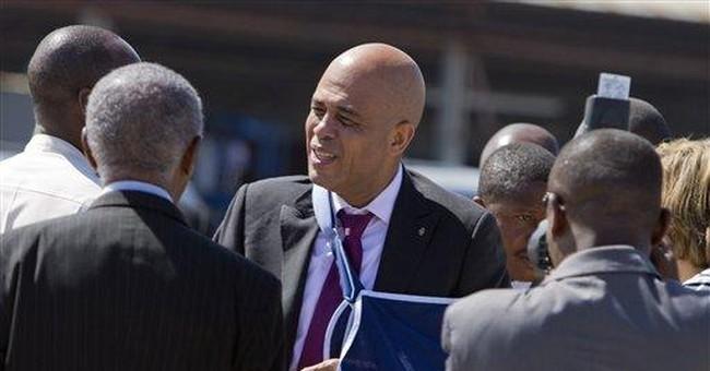 Haiti president returns following surgery in US