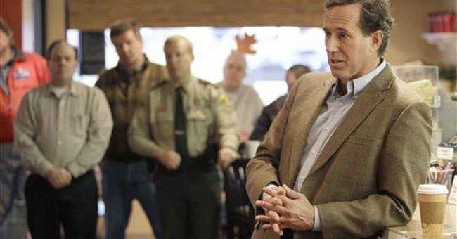 Santorum: GOP needs to talk more about values