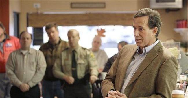 Santorum: GOP needs to talk more about values