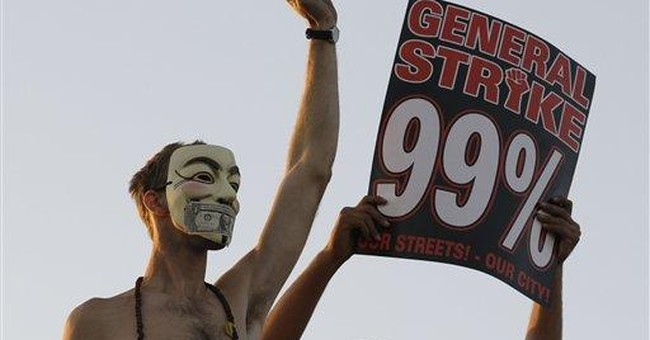 'Vendetta' mask becomes symbol of Occupy protests