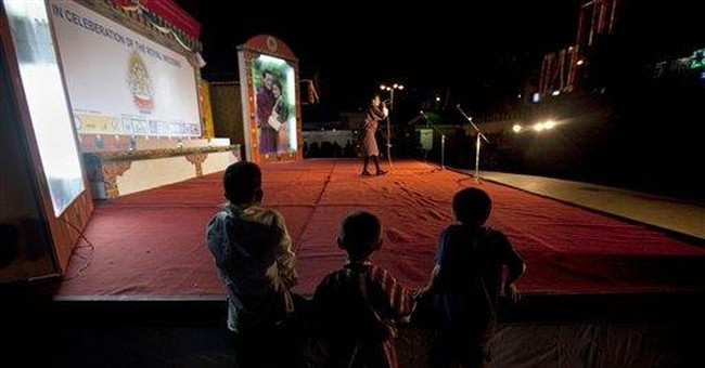 Bhutan's 'Idol' rocks dragon lutes, Buddhist hymns