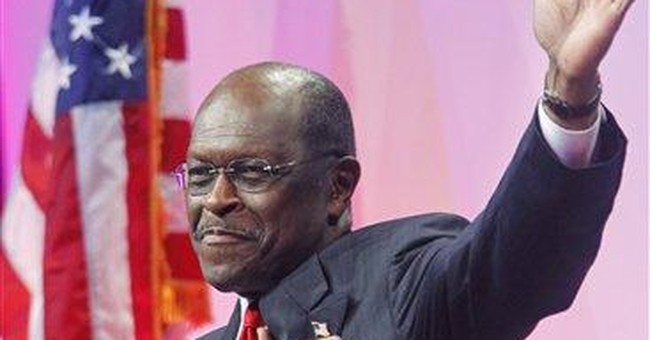 Accusations not yet costing Cain in early states