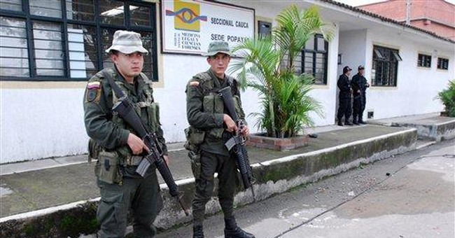 Slaying plunges Colombia rebels into uncertainty
