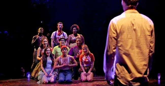 Broadway's 'Godspell' is heaven-sent for its cast
