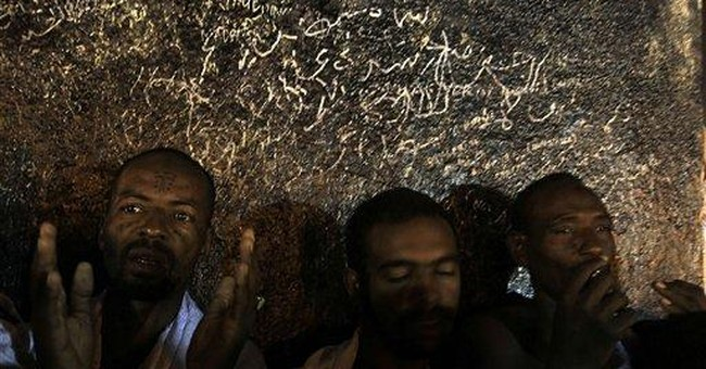 Muslims start the hajj amid year of Arab uprisings