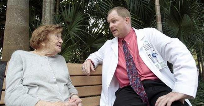 Boomers' aging casts light on geriatrics shortage