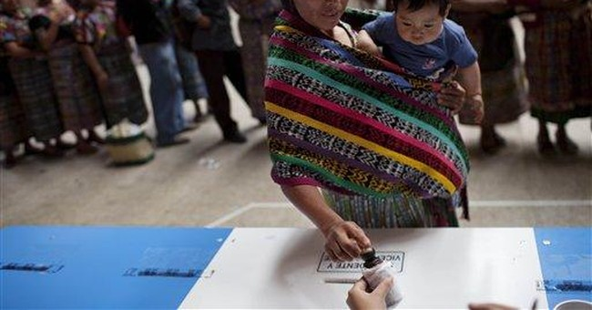 Ex-general wins Guatemalan presidential election