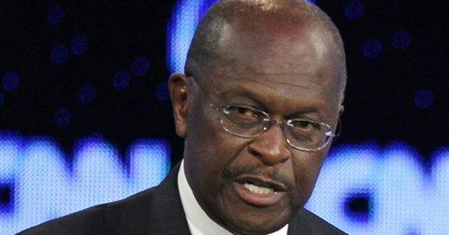 Woman accuses Cain of reaching for genitals
