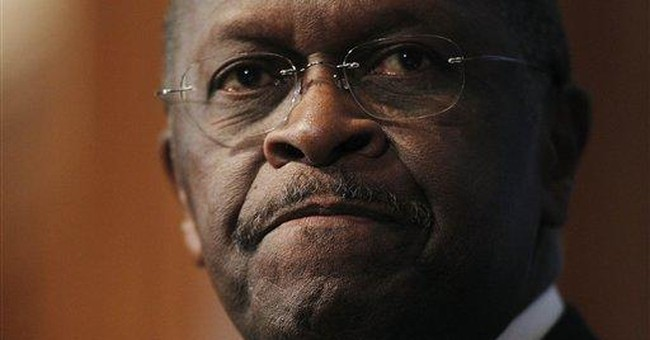Cain accuser's past includes financial troubles