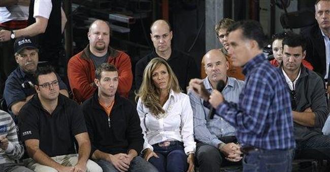 Romney touts fiscal plan, avoids fray on Iowa trip