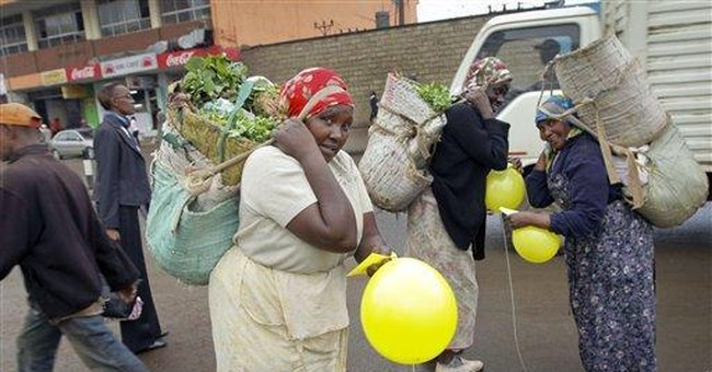 Countering fear, balloons inspire smiles in Kenya