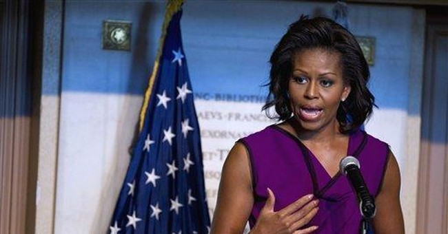 Michelle Obama: Students need to confront fears