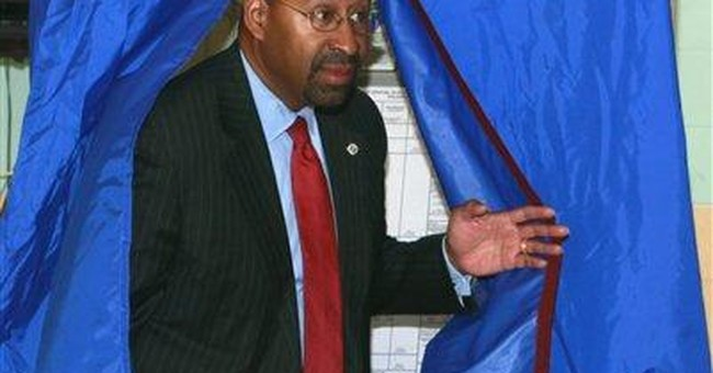 Philly Mayor Michael Nutter re-elected to 2nd term