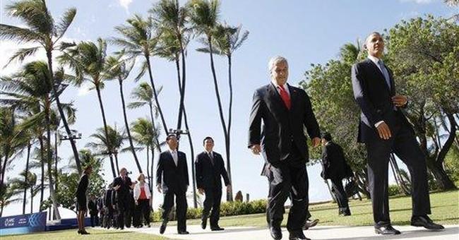 No aloha: Obama skips out on APEC tradition
