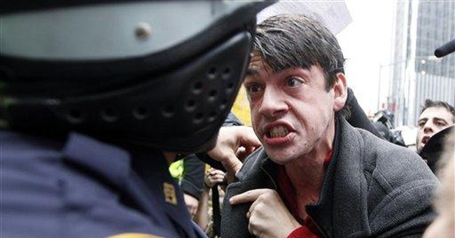 Crackdowns reach epicenter of Wall Street protests