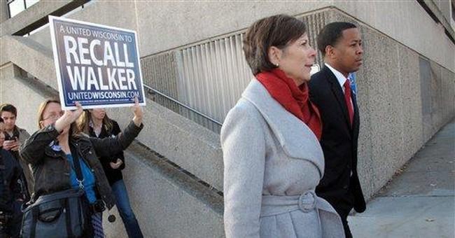 Recall effort against Wisconsin Gov. Walker begins