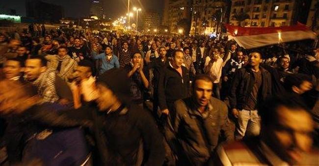 Egypt stock market drops on political unrest