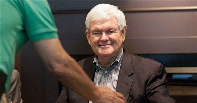 Gingrich coup: Endorsement from NH's largest paper