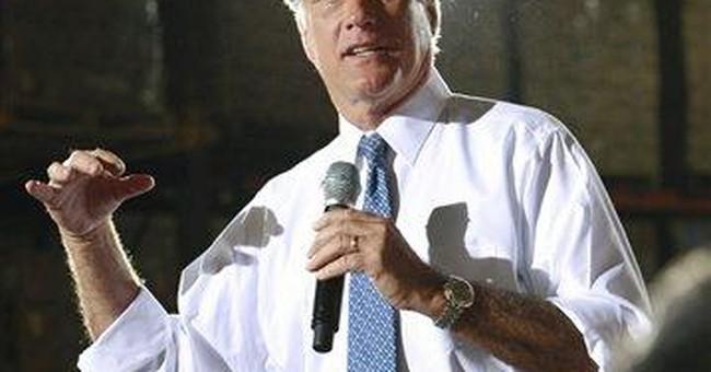 Romney knocks Gingrich as 'lifelong politician'