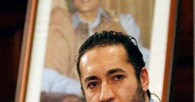 Gadhafi's son denies plot to sneak into Mexico