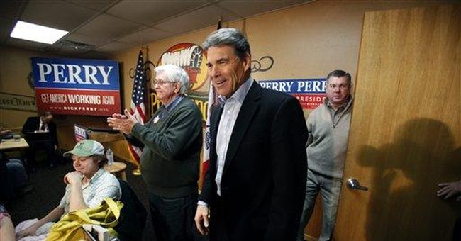 Perry: Wall Street bailout biggest theft in US