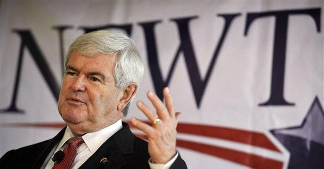 Gingrich fails to qualify for Va. primary ballot