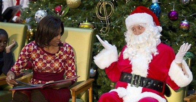 Santa Claus passes new poll with flying colors
