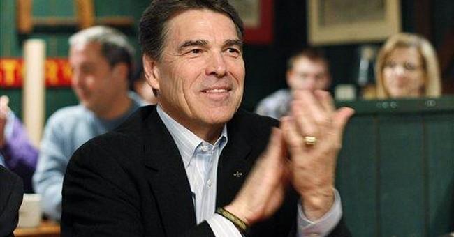 Perry challenges Santorum on earmarks